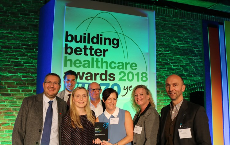 Hospital wins top award for best new build