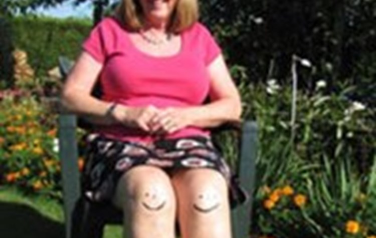 A double knee replacement for Grace Moon