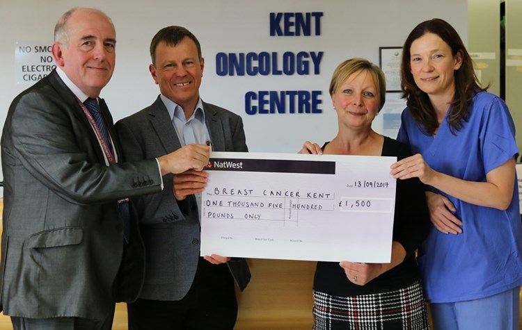 Hospital supports breast cancer charity