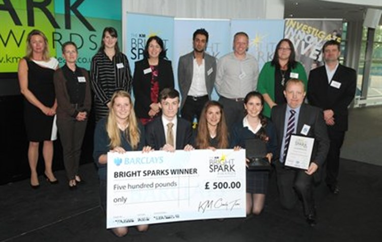 Hospital sponsors school science competition